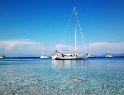 Vacanze a vela con skipper in Grecia ionica.