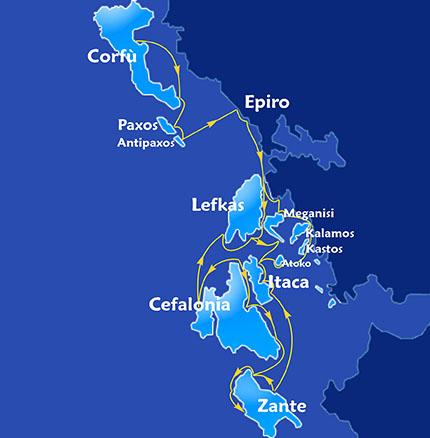 Itinerario Grecia ionica
