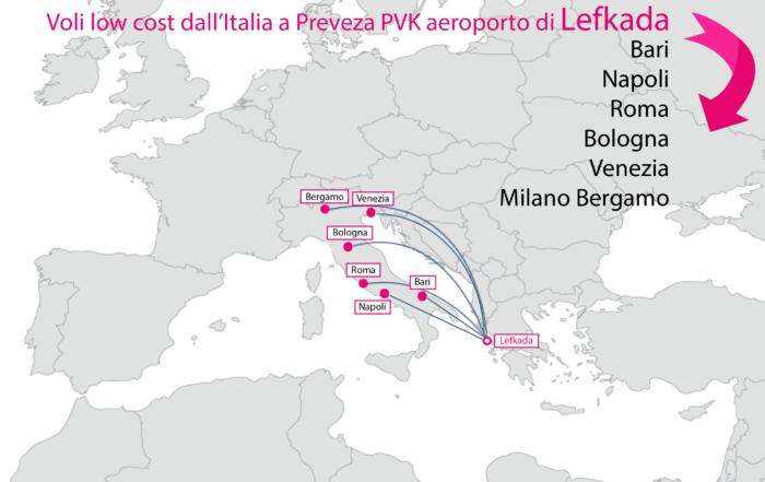 Come raggiungere Lefkada