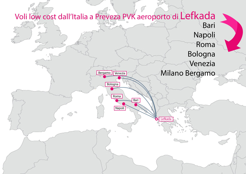 Voli low cost Italia Preveza