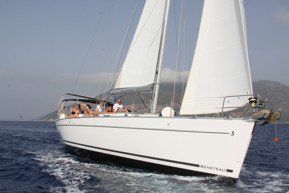 Big Mama in navigazione in Grecia