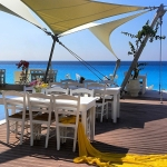 Areia Bar in Kathisma Beach Lefkada